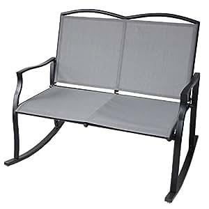 Amazon.com: UNICOO - Banco de patio amor, asiento de jardín ...