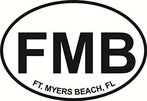 fort-myers-beach-euro-oval-bumper-sticker