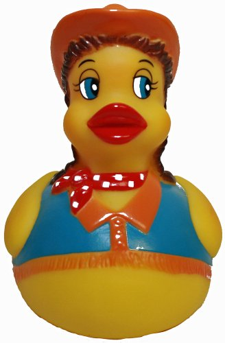 Assurance Waddlers Rubber Duck Family-cowgirl rubber duck that floats upright-toy bathtub rubber duck-rubber ducky birthday gift-rubber duck in health and personal care, Baby & Kids Zone