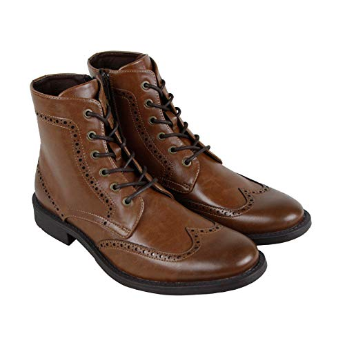 (Kenneth Cole Unlisted Men's Blind-Sided Chukka Boot, Cognac, 9.5 M US)