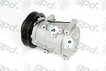 Amazon Com Global Parts Distributors New A C Compressor Fits 08 11 Accord 6512752 Automotive