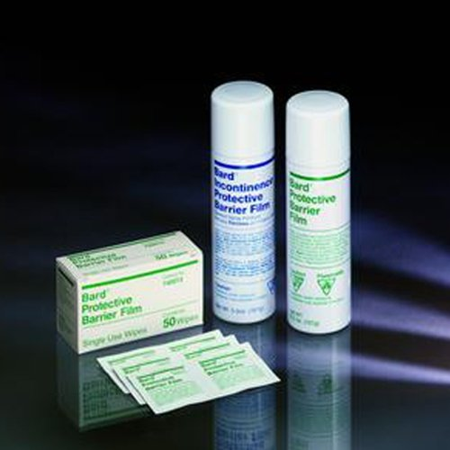 Bard Protective Barrier Film - Wipes - Box of 50 by Barrier Film