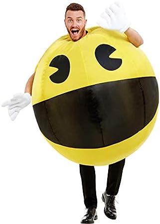 Funidelia Disfraz de Pac-Man Hinchable para Adulto: Amazon.es ...