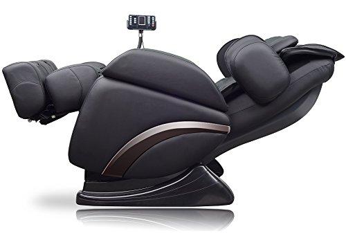 ideal massage Full Featured Shiatsu Chair with Built in Heat Zero Gravity Positioning Deep Tissue Massage - Black