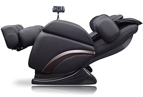 Positioning Push Chair - ideal massage Full Featured Shiatsu Chair with Built in Heat Zero Gravity Positioning Deep Tissue Massage - Black