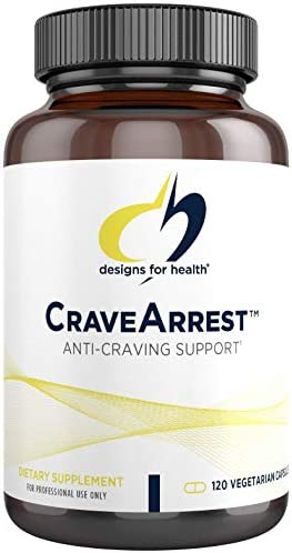 Designs for Health CraveArrest - 1000mg L-Tyrosine + 100mg 5-HTP for Serotonin + Dopamine Support (120 Capsules) 1