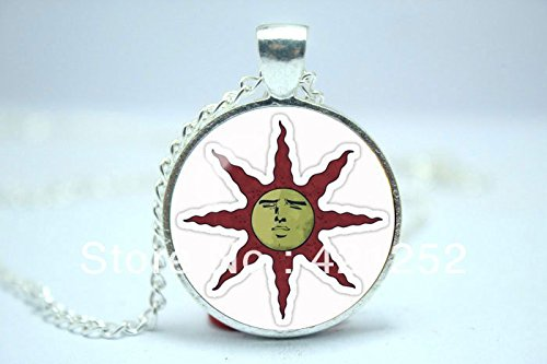 Pretty lee 2015 fashion dark souls solaire of astora sun symbol pretty lee 2015 fashion dark souls solaire of astora sun symbol yaranaika glass cabochon dome pendant christmas gift buy online in uae aloadofball Image collections
