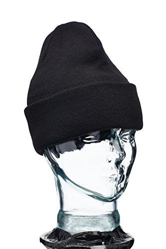 Blackrock Thinsulate - Bonnet En Laine, Noir, Taille Unique