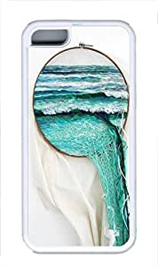 TPU Back Case Cover For iPhone 5C DIY Durable Shell Skin For iPhone 5C with Ocean by mcsharks