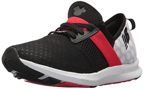 FuelCore Black Trainer New Red Cross Balance Nergize Women's V1 Disney EEBCqax