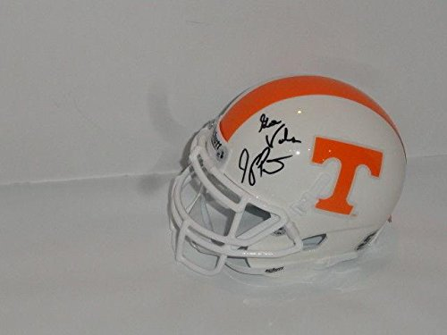 Jeremy Pruitt Signed Tennessee Volunteers Mini Helmet W/ Inscription Proof - Autographed College Mini Helmets