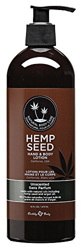 - Earthly Body Hemp Seed Hand and Body Lotion, Unscented, 16 Oz.