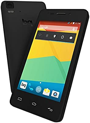 BQ Aquaris E4 - Smartphone libre Android (pantalla 4 pulgadas, cámara 8 Mp, 8 GB, Quad-Core 1.3 GHz, 1 GB RAM, Android 4.4 KitKat), negro: Amazon.es: Electrónica