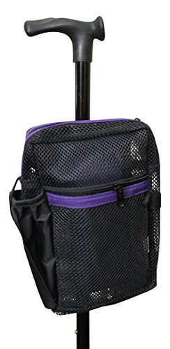 Cane Buddy - Secure Pouch for Cane, Walker, Crutches and Wheel Chairs -