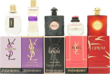 Yves Saint Laurent Perfume Travel Gift Set for Women, 1.2 Ounce