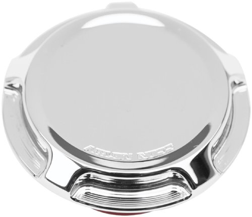 Covers Derby Billet Chrome (Arlen Ness 70-001 Chrome Billet Gas Cap/LED Fuel Gauge Cap)