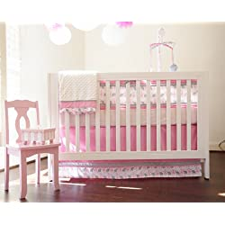 Nursery-To-Go 10 Piece Nursery to Go Crib Bedding Set, Sassy Safari Butterfly