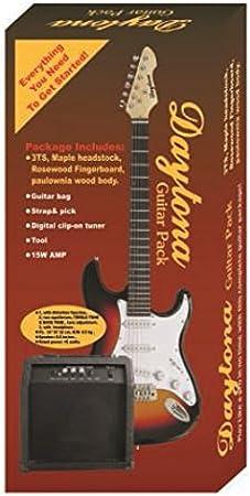 Pack guitarra eléctrica tipo Stratocaster Daytona: Amazon.es: Instrumentos musicales