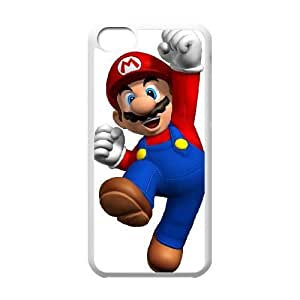 iphone5c White Super Mario Bros phone cases protectivefashion cell phone cases HYQT5804139