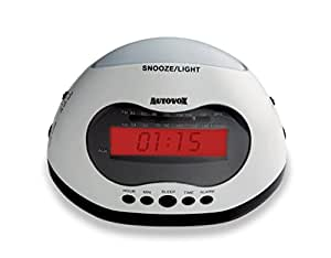 Autovox RSB06 Reloj Digital Color blanco - Radio (Reloj, Digital, AM,FM, 88 - 108 MHz, 540 - 1600 kHz, LED)