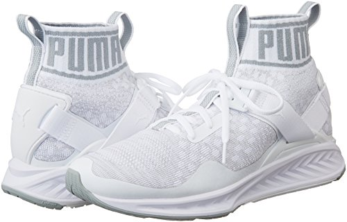 Blanc puma quarry vaporous White Evoknit Adulte Chaussures Ignite Gray Mixte Comptition Puma 03 Running De BS7q8Rxcwz