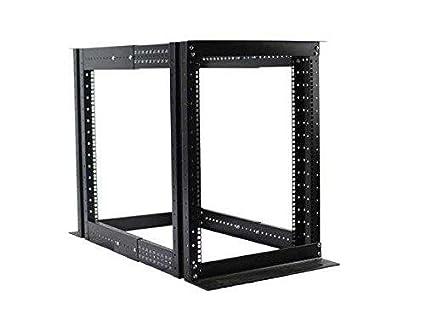 15u 4 Post Open Frame Server Rack Enclosure 19 Adjule Depth