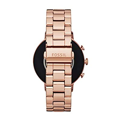Fossil Women Gen 4 Venture HR Stainless Steel Touchscreen Smartwatch
