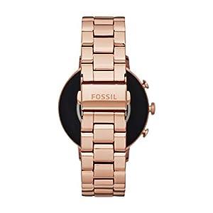 Fossil Women's Gen 4 Q Venture HR Stainless Steel Touchscreen Smartwatch