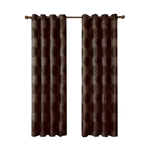 Lexington Chocolate - Set of 2 Panels 104