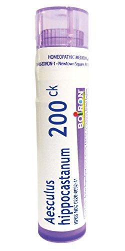 - Boiron Aesculus Hippocastanum 200CK, 80 Pellets, Homeopathic Medicine for Hemorrhoids
