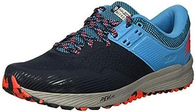 New Balance Men's Nitrel V2 FuelCore Trail Running Shoe, Galaxy/Polaris/Flame, 7 4E US