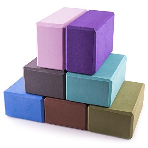 Buy Yoga Blocks London: Peace Yoga Foam Exercise Blocks (2 Pack) In The UAE. See
