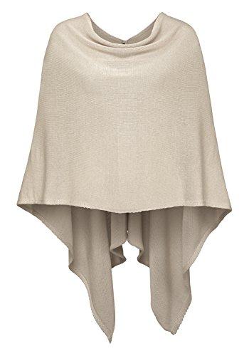 Solid Algodón Wrap De Claro Poncho Sueños Capa Beige nbsp;varios Cachemira Colores nbsp;– Short Mujer Knit Para Jersey HPqCz