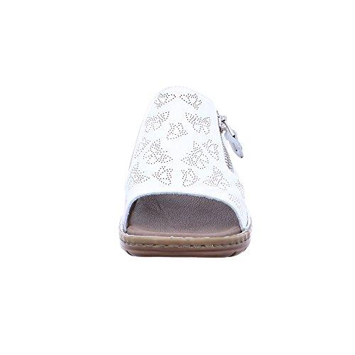 dunkel ARA Pantoletten Hawaii Weiss; Weiß Damen FHqU6
