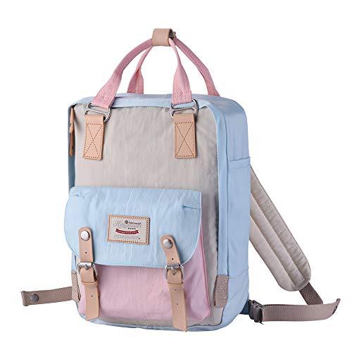 Himawari Backpack/Waterproof Backpack 14.9'' College Vintage Travel Bag for Women,13inch Laptop for Student (HM-38#) by Himawari