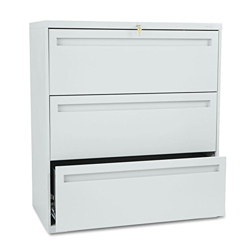 700 Series Lateral File - Hon Company Brigade 700 Series Lateral File (Light Gray, 3 Drawer 36