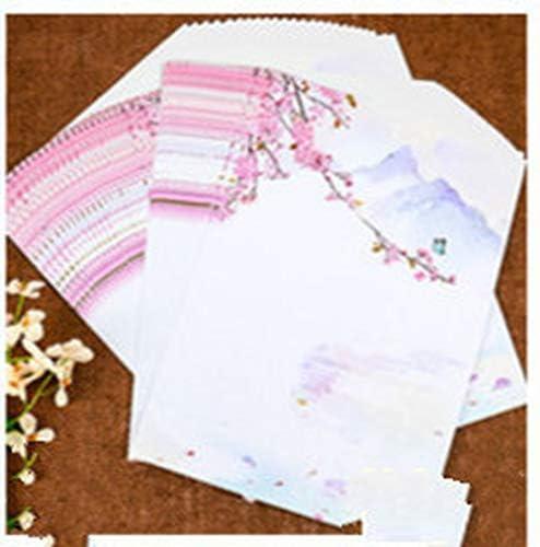 SY-shop 50 Blätter/Sätze von Multi-optionalen chinesischen Stil Retro Alten Stil Schreibwaren kreative europäischen Stil romantischen koreanischen Schreibwaren Großhandel