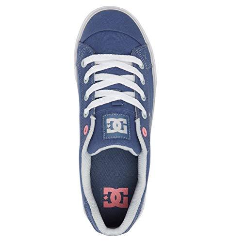 Femme Chelsea Bleu Baskets Shoes Blue Tx Dc Basses grey wTXFZxqA5