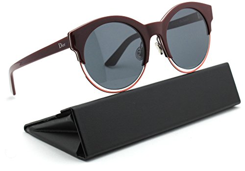 Christian Dior Sideral 1/S Round Women Sunglasses (Red Frame, Dark Grey Lens - Sunglasses Dior Sideral