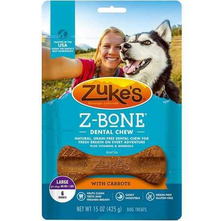 Zuke`S Z-Bone Large Carrot 6 Count ()