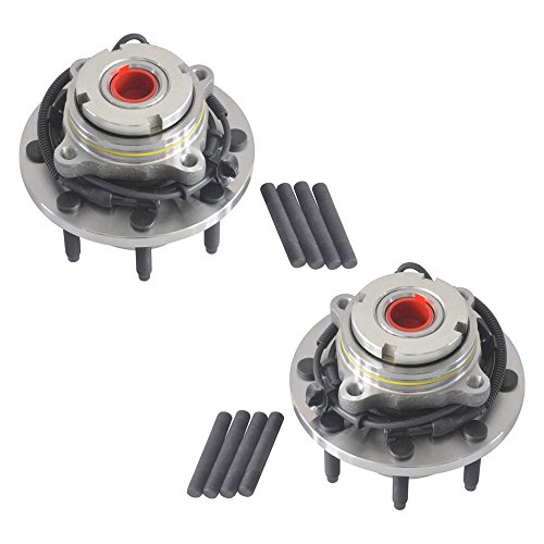 DRIVESTAR 515056x2 (Pair) New Front Wheel Hub & Bearing Ford F250 F350 Excursion 4X4 4WD
