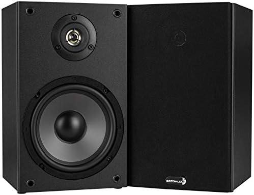Dayton Audio B652 6-1 2 2-Way Bookshelf Speaker Pair
