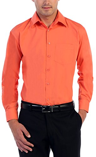 dress shirts solid color - 5