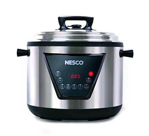 Nesco PC11-25 Pressure Cooker, 11 L, Stainless Steel by Nesco