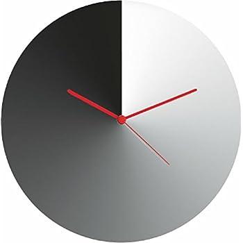 Amazon.com: Alessi acero con resina epoxi Dotty, reloj de ...