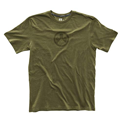 Magpul Men's Fine Cotton Icon Logo T-shirt,  Olive,  Small