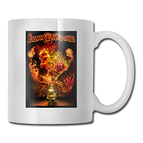 Audry A Aeorge Insane Clown Posse ICP Ceramic Cup, Coffee Mugs, Tea Cup, for Office and Home, Funny Gift,Maximum Capacity 11 Oz