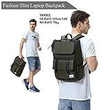 Backpack for Men,Vaschy Vintage Water Resistant