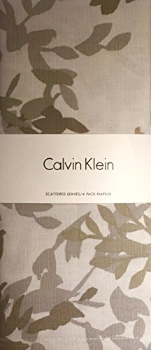 Price comparison product image Calvin Klein Scattered Leaves Napkins 4