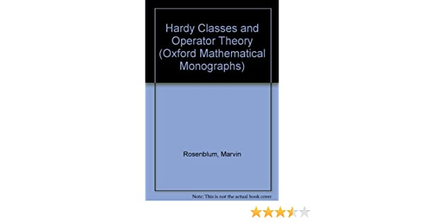 Hardy Classes and Operator Theory